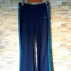 Adidas Navy And Blue Trackpants Size Small
